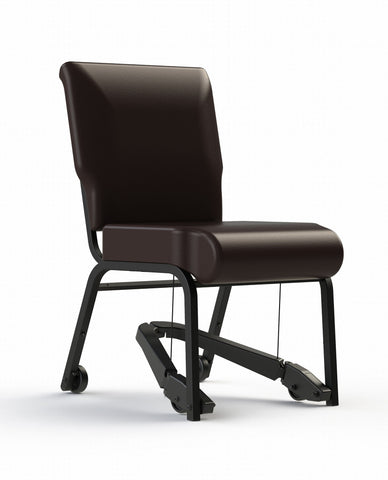 The comfortek chair is ideal for those with a care giver to move into place at the table.  easy to use and also rotates for easy seating