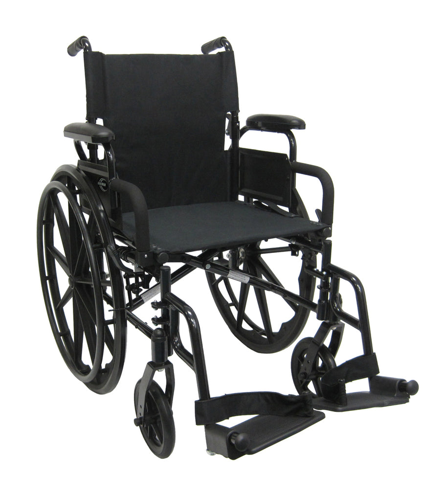 Karman healthcare standard wheelchair light weight 802-DY