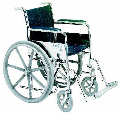 TuffCare 867 Tuffy Deluxe Fixed Arm Manual Wheel Chair