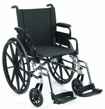 The invaCare 9000XT manual wheelchair is well made and durable.