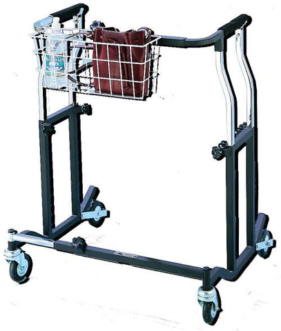 Drive Medical Steel Safety Roller, Bariatric Rollator