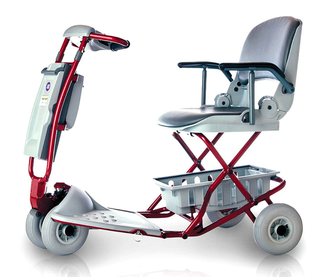 The lexis light is a portable and stable scooter useful for those who have balance issues.