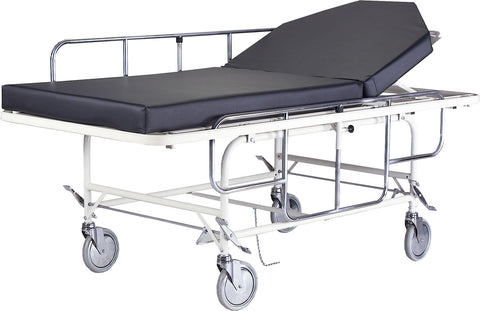 bariatric stretcher  with up to 1000 lbs capacity allows common nurses and caregivers to move very heavy patients.