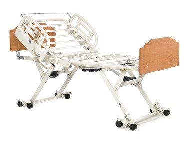 Invacare CS-7 bed alone with assist rail