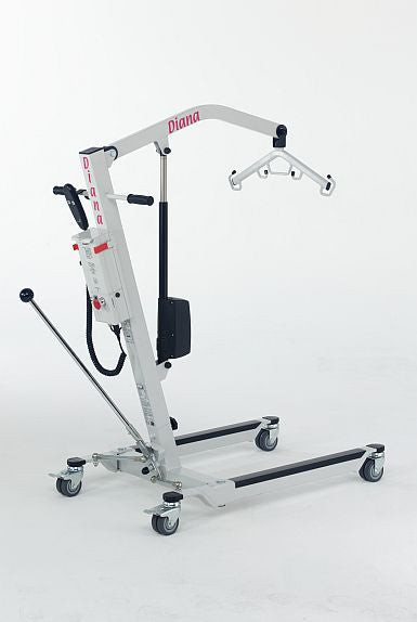 Barrier Free Diana lift makes lifting & transporting clients easy. Complies with zero lift policy.