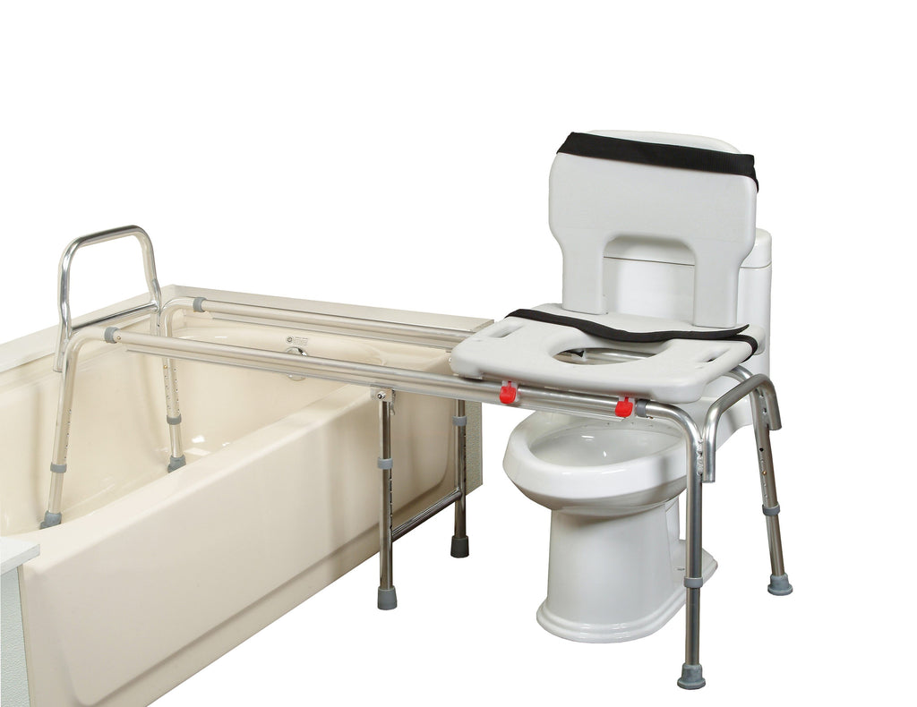 Eagle Health Toilet To Tub Transfer Bench Extra Extra