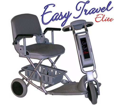 The Easy Travel Elite is a portable scooter now shipping within the USA