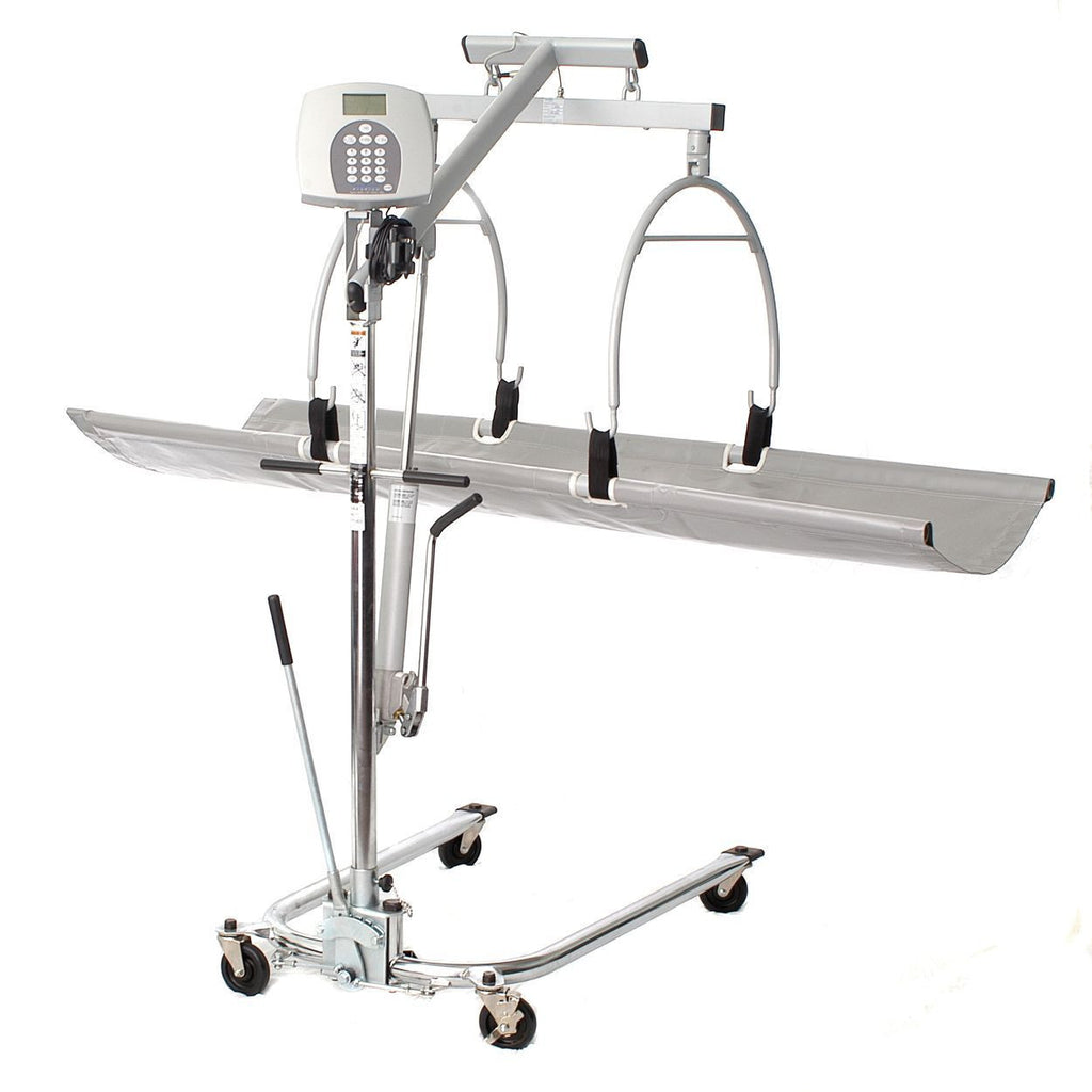 H-O-M-Scales 2000KL Supine lay in bed digital scale with lift 400 lbs capacity, Free shipping