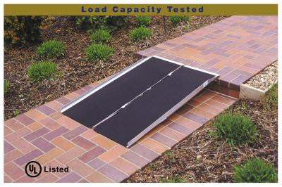 PVI Portable single fold ramps, easy to transport and store, 2 to 8 ft. in length , Now with 800 lbs capacity!