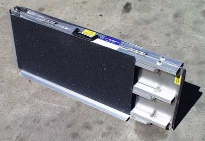 "the ready ramp is an excellent choice those that need portablility for 6-7"" steps to meet ADA requirements"