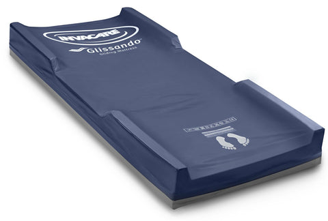 The glissando mattress is a very good mattress for articulating beds as it has an internal slide that reduces or eliminates sheer on skin.