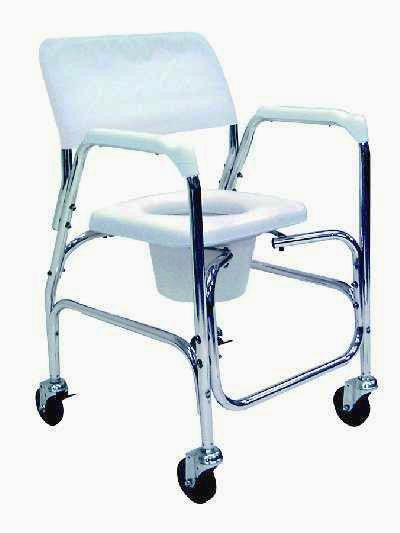 TuffCare S800 Commode Capable Shower Chair with padded seat