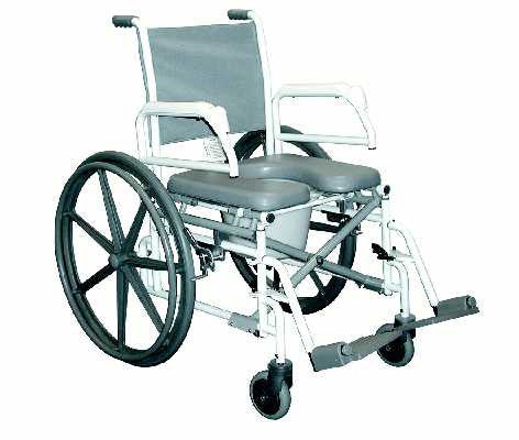 TuffCare S970 Commode Shower Chair, Free Shipping
