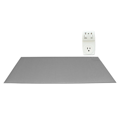 SmartCareGiver smart outlet interfaces to the mat to tun on a light for safety