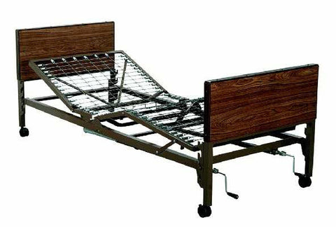 T1520 Homecare / Hospital Bed, Mattress, & Rails Package