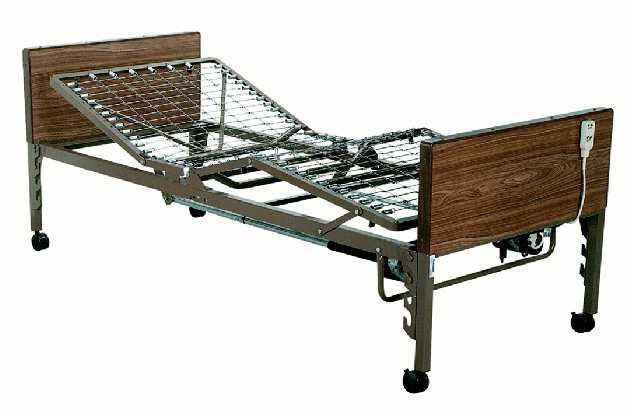 T2520 semi-electric Adjustable Bed for Homecare or Hospital use