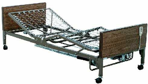 T3020 Electric High / Low Adjustable Homecare / Hospital Bed