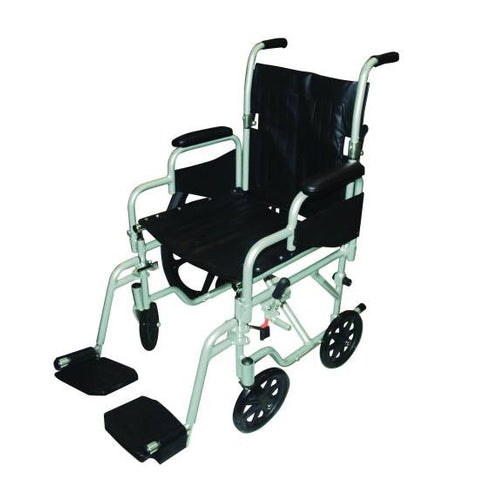 The Pollywog wheelchair in two seat widths