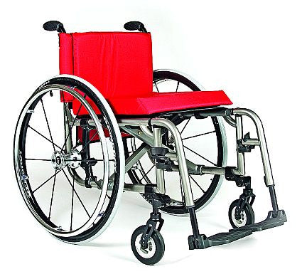 The New TiLite 2GX, designed to inspire, folding chair performs like a rigid frame only 13.5 lbs.