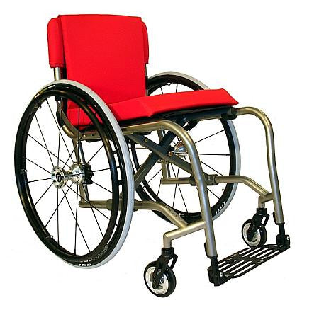 TiLites' recently developed folding manual wheel chair ,The TX