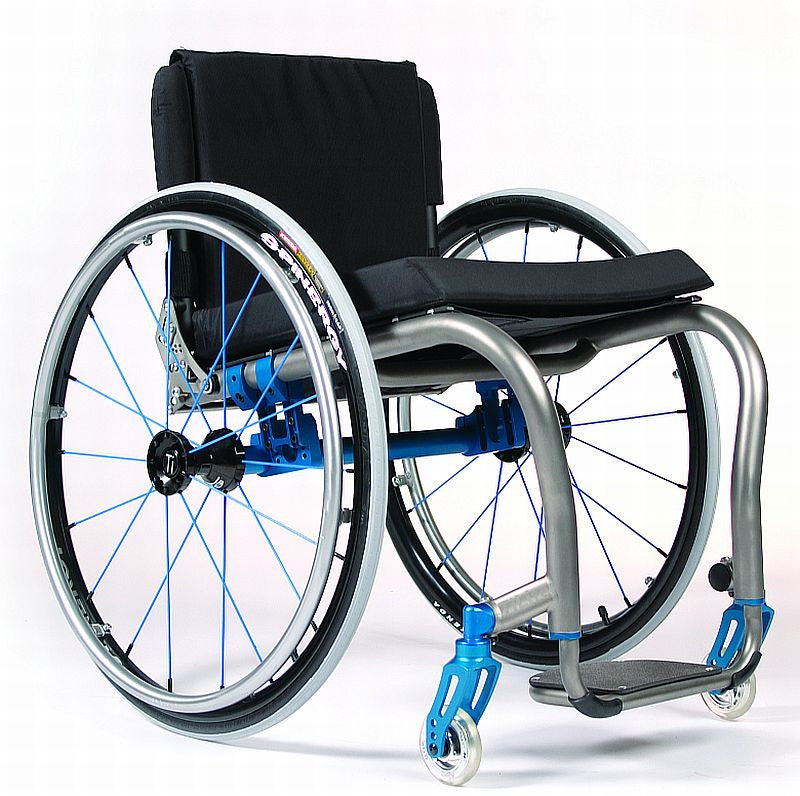 TiLite ZRA, The ultimate adjustability for a Titanium wheelchair