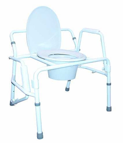 M470 Bariatric commode for bedside or bathroom use