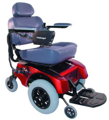 TuffCare 6520 'Front Drive' Power Chair, Free Shipping and Batteries