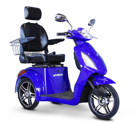 E-wheels 36 electric tricycle for stability