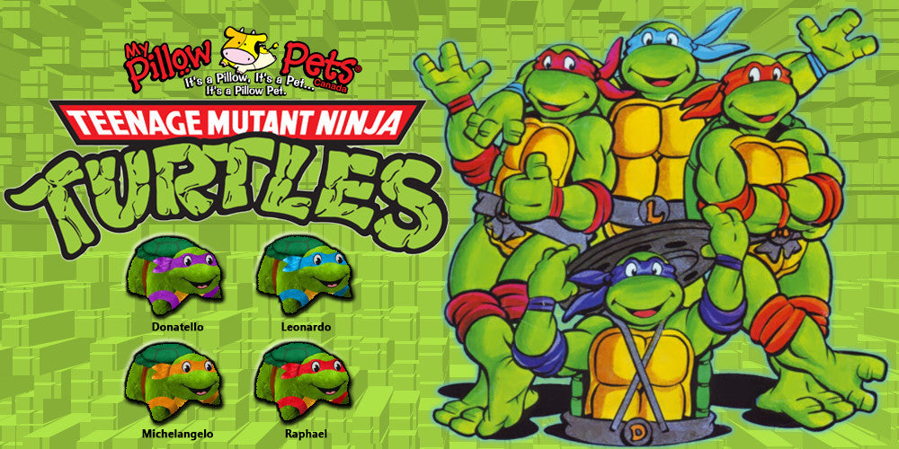TMNT Pillow Pets Sale | My Pillow Pets Canada
