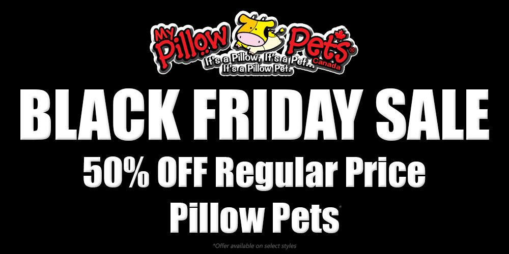My Pillow Pets® Canada | Black Friday Sale