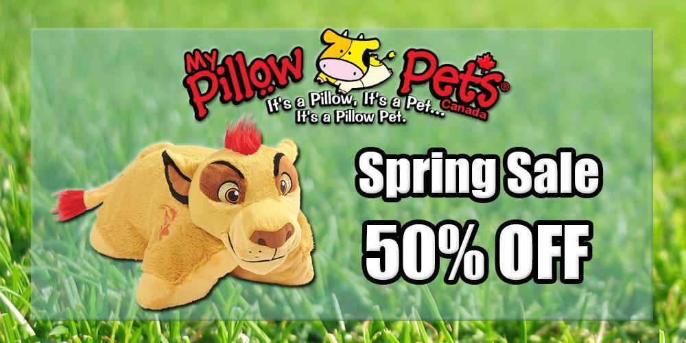 My Pillow Pets Canada Spring Sale!