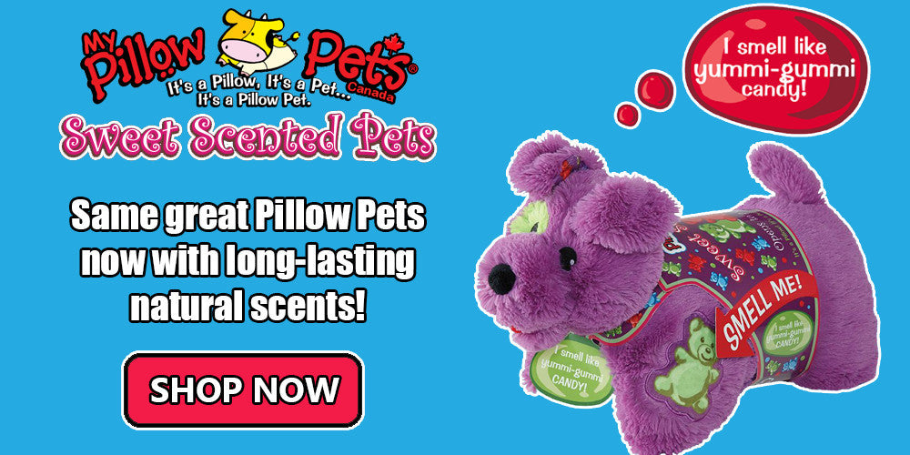 New Sweet Scented Pets | My Pillow Pets Canada
