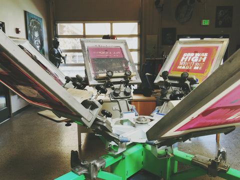 Spooky Dawson - screen printing in Bend, Oregon