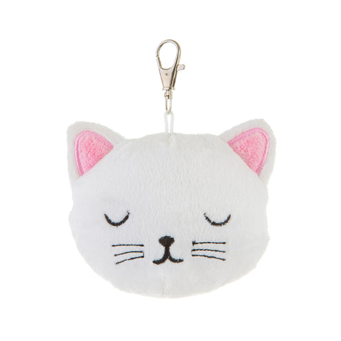 Cutie Cat Looking Purrrfect Plush Key Ring