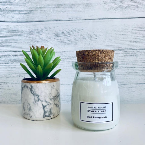 Stwff-Stuff Milk Bottle Candles