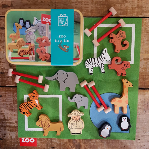 Zoo In A Tin