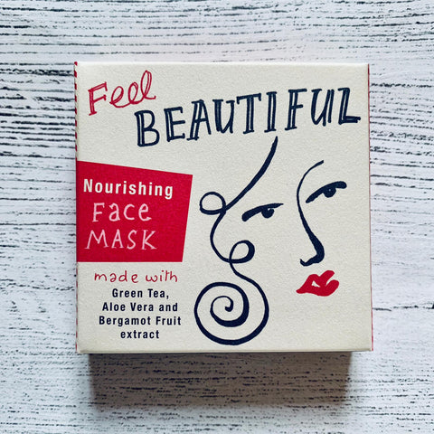 Barefoot & Beautiful Feel Beautiful Nourishing Face Mask