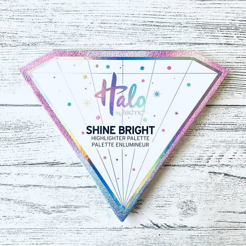 Halo Shine Bright Highligter Palette