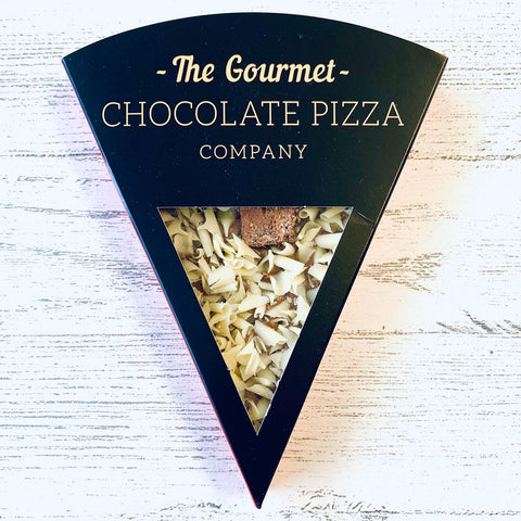 Gourmet Chocolate Pizza Slice