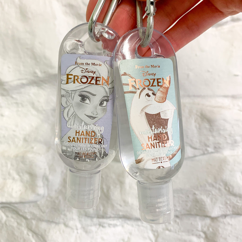 Clip and Clean Gel Sanitiser-Disney Frozen Collection
