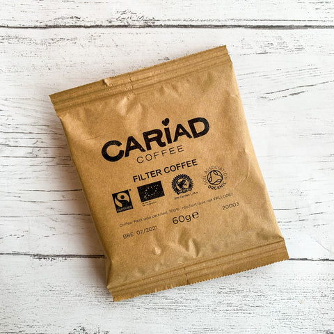 Cariad Coffee Filter Coffee Pack 60g
