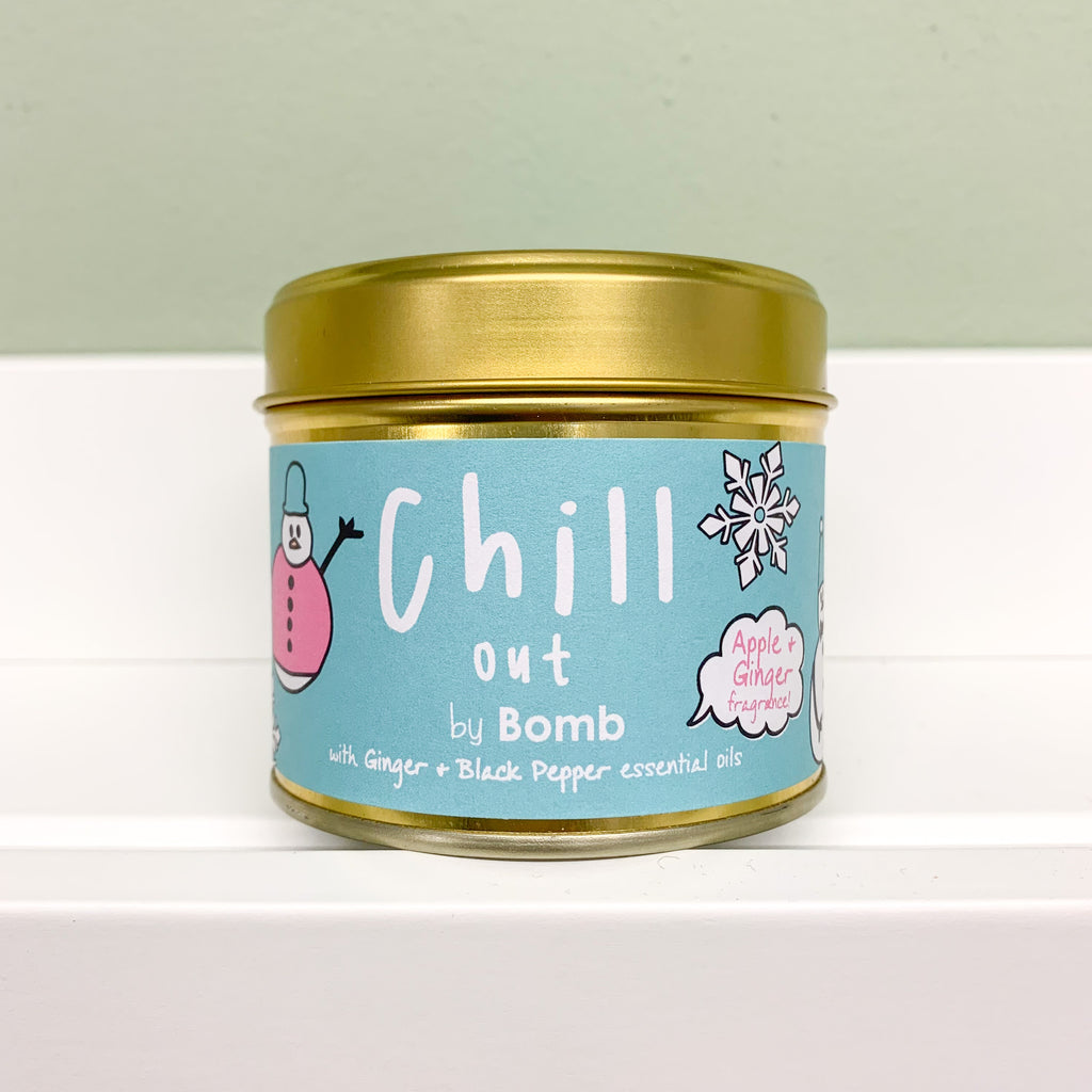 Chill Out Tin Candle