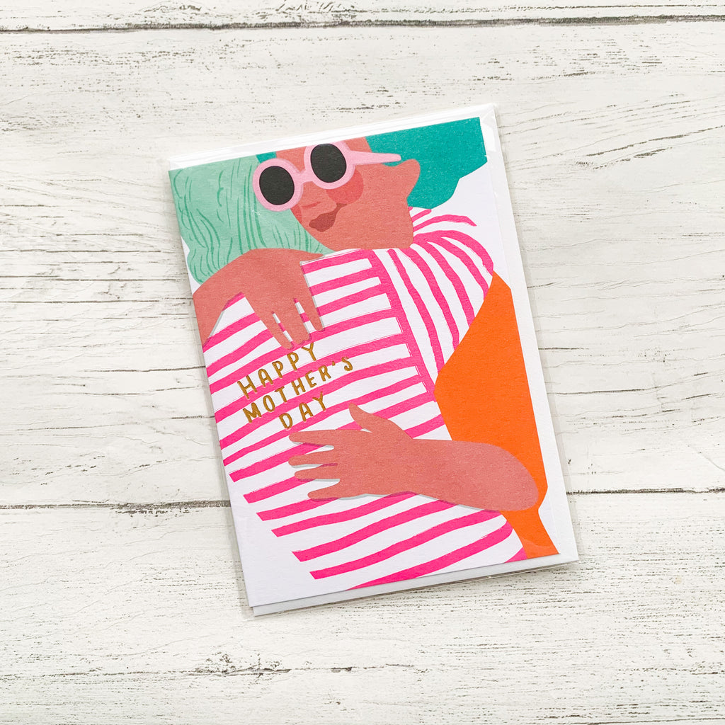 Happy Mothers Day 'Big Hug' Card