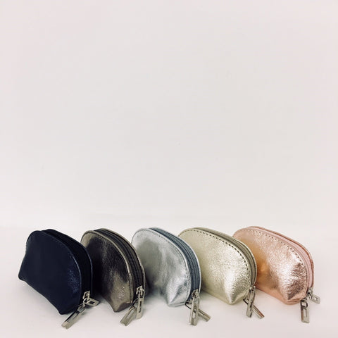Small Metallic Coin Purse