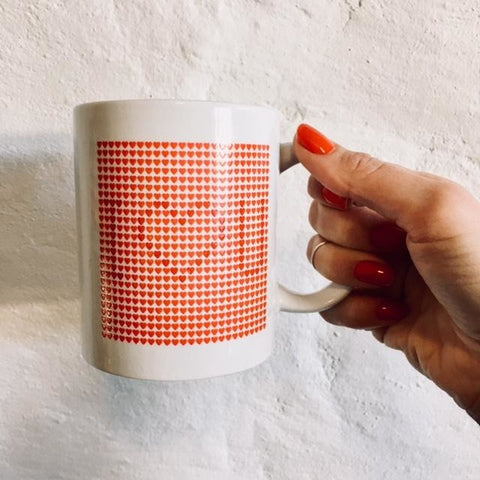 'I Love You' Magic Mug