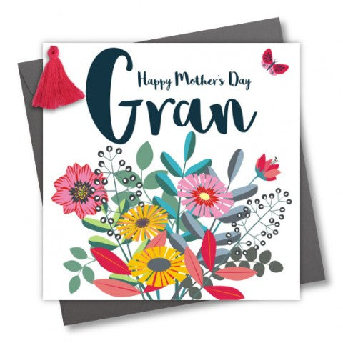 'Happy Mothers Day Gran.' Card