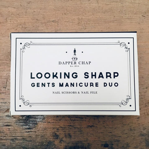 'Looking Sharp' Gents Manicure Duo