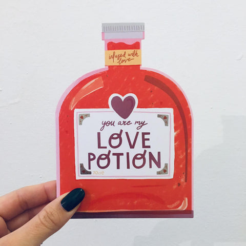 'You Are My Love Potion' Card