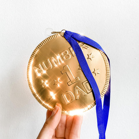 Giant Chocolate Medal Coin