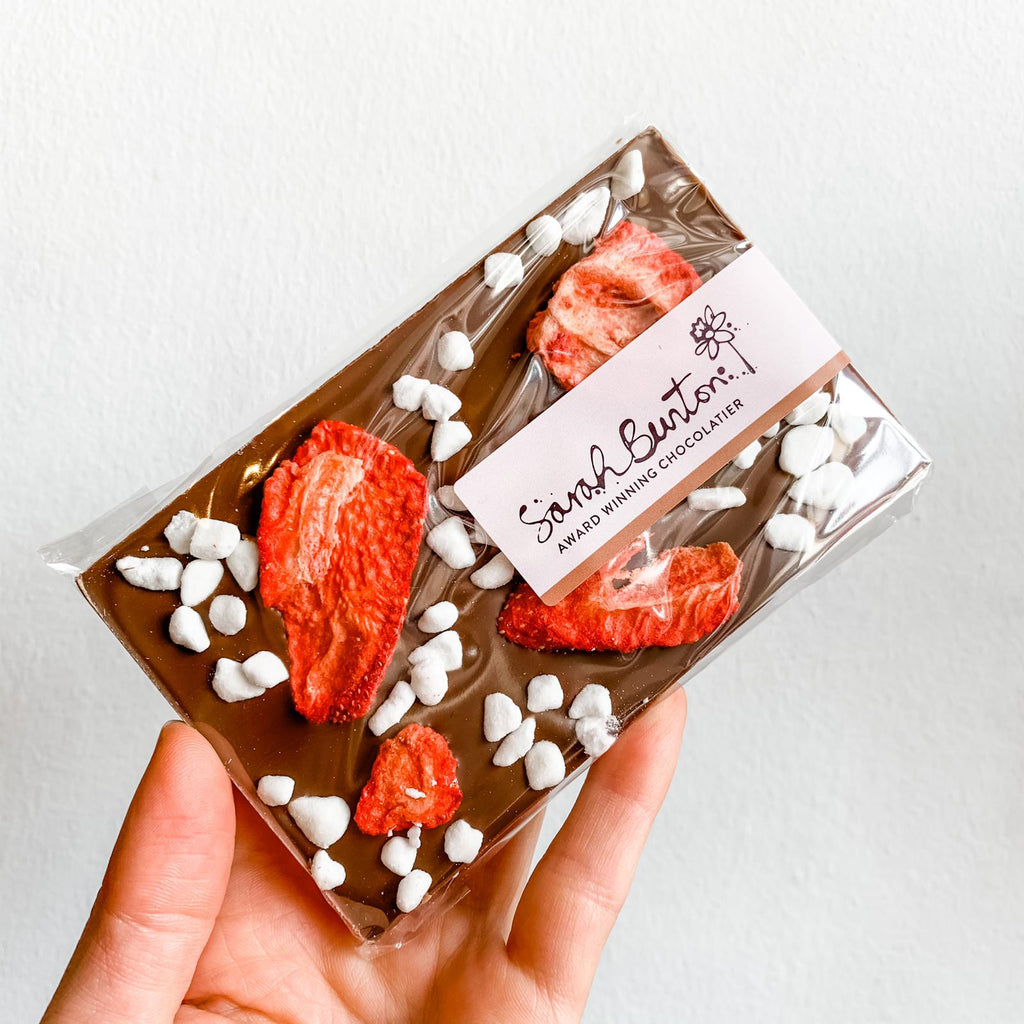 Sarah Bunton Chocolate Bar with Eton Mess